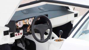 Фото   Позолоченный салон Lamborghini Countach