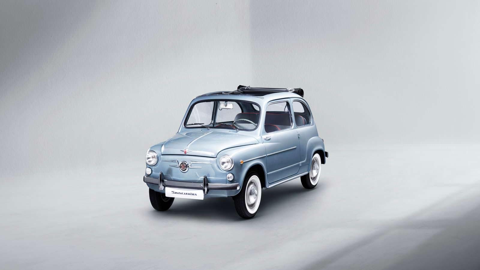 В Сеат возродили легендарную модель 600