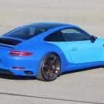 Двухцветный Porsche 911 Carrera S в стиле Bugatti
