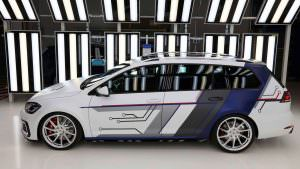 Электрический универсал Volkswagen от стажёров в 2017 году