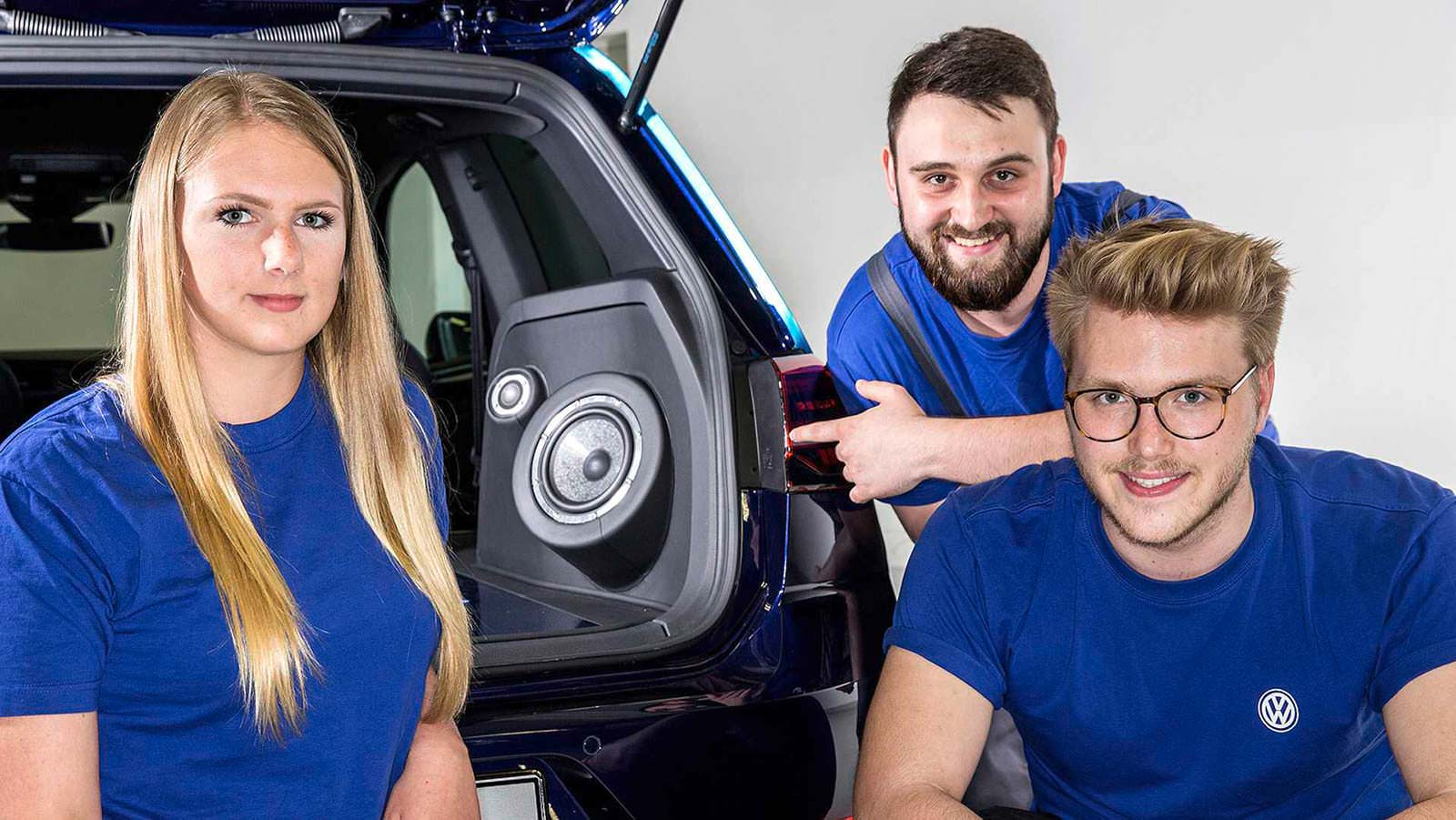 Стажёры Volkswagen в 2017 году