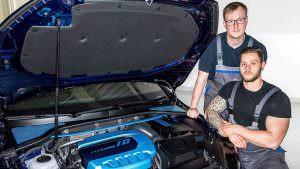 Гибридный двигатель Volkswagen на 410-сил