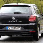 Шпионское фото Volkswagen Polo нового поколения