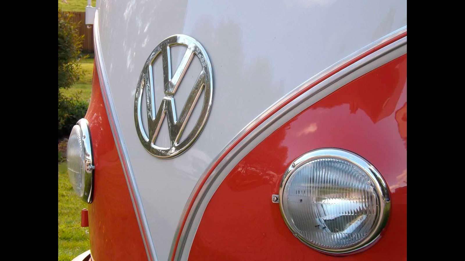 Отреставрированный Volkswagen T1 Samba 1959 года выпуска