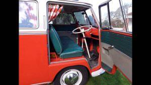 Салон Volkswagen T1 Samba 1959 года выпуска