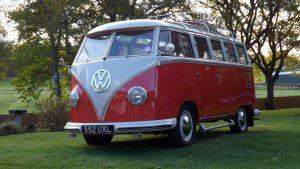 Праворульный Volkswagen T1 Samba 1959 года выпуска