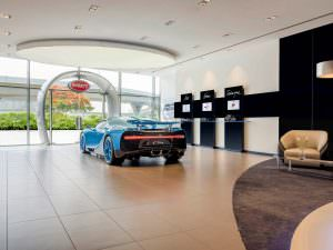 Фото | Крупнейший салон Bugatti в Дубае, ОАЭ и Bugatti Chiron