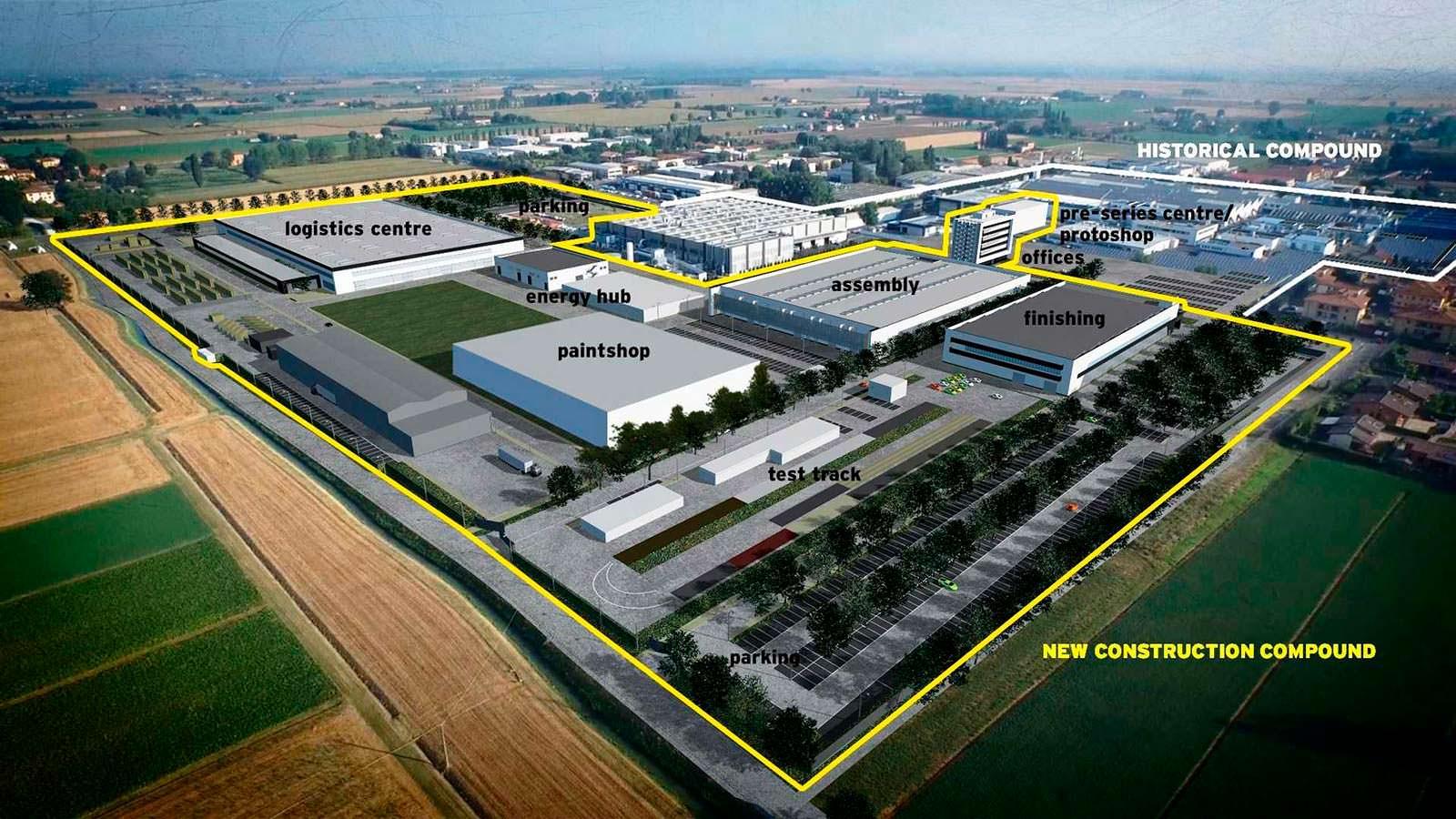 Завод Lamborghini в Италии