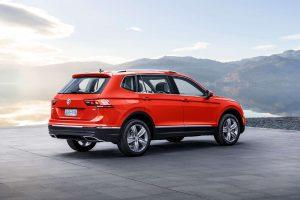 Цена Volkswagen Tiguan 2018 года в США от $25345