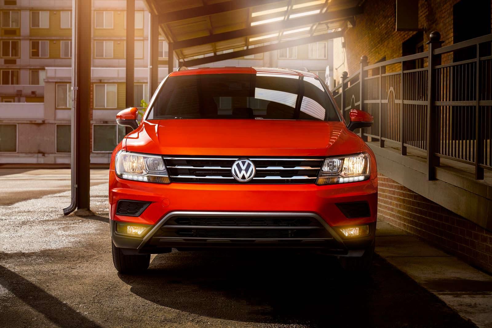 Американский Volkswagen Tiguan 2018 года