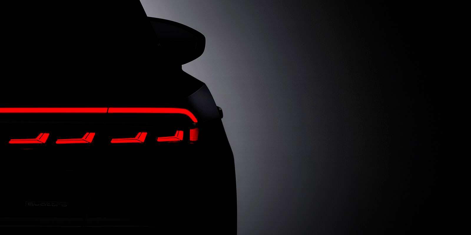 Официальный тизер Audi A8 нового поколения 2018 года