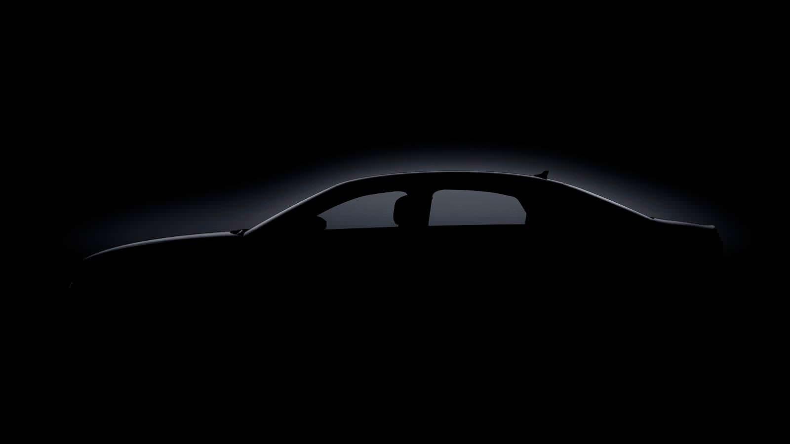 Силуэт кузова седана Ауди А8 нового поколения