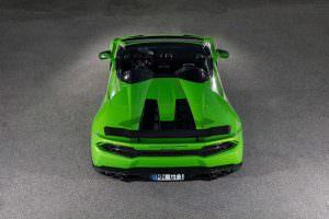 Тюнингованный Lamborghini Huracan Spyder N-Largo