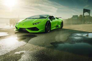 Тюнинг Novitec Lamborghini Huracan Spyder N-Largo
