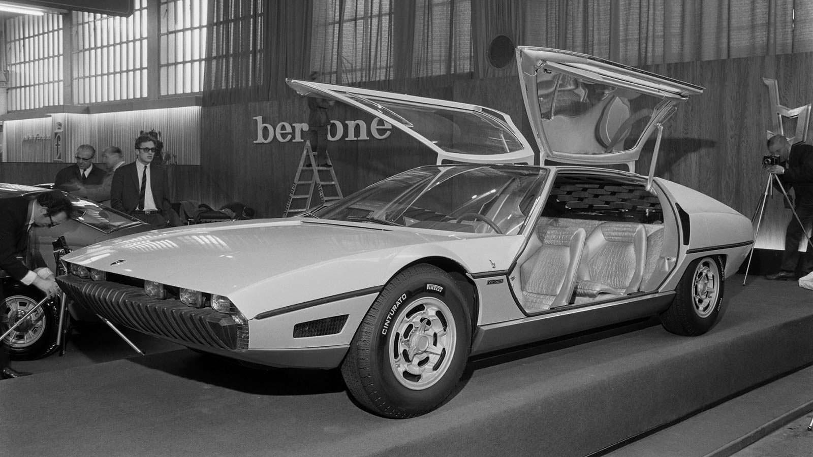 Lamborghini Marzal в марте на Женевском автосалоне 1967 года