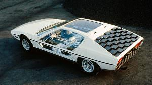 Концепт Lamborghini TP200 Marzal 1967 года