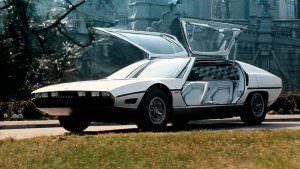 Двери крылья чайки Lamborghini TP200 Marzal