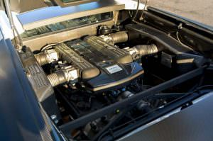 6,5-литровый двигатель V12 Lamborghini Murcielago SV
