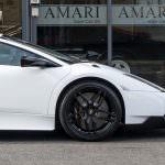 Чёрные глянцевые колеса Lamborghini Murcielago SV