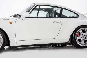 Двери из легкого алюминия Porsche 911 Carrera RS 3.8