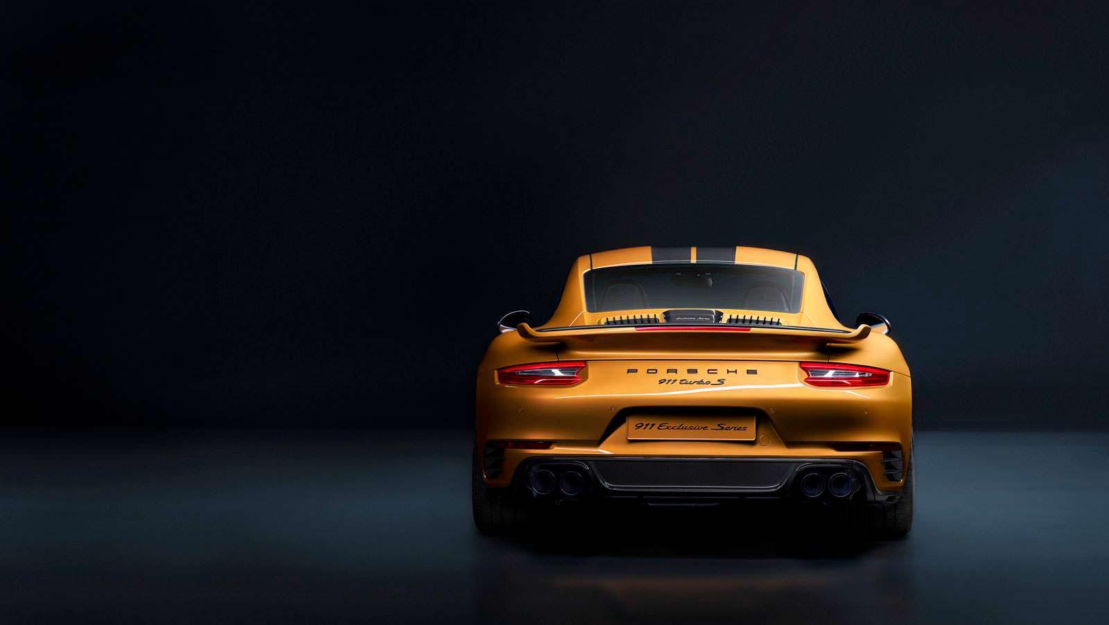 Самый быстрый Porsche 911 Turbo S Exclusive