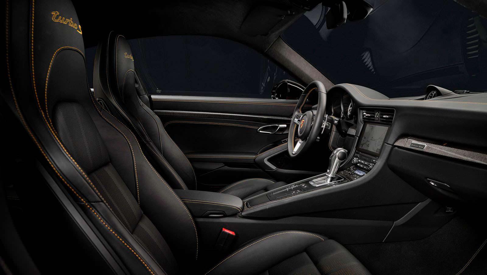 Интерьер Porsche 911 Turbo S Exclusive