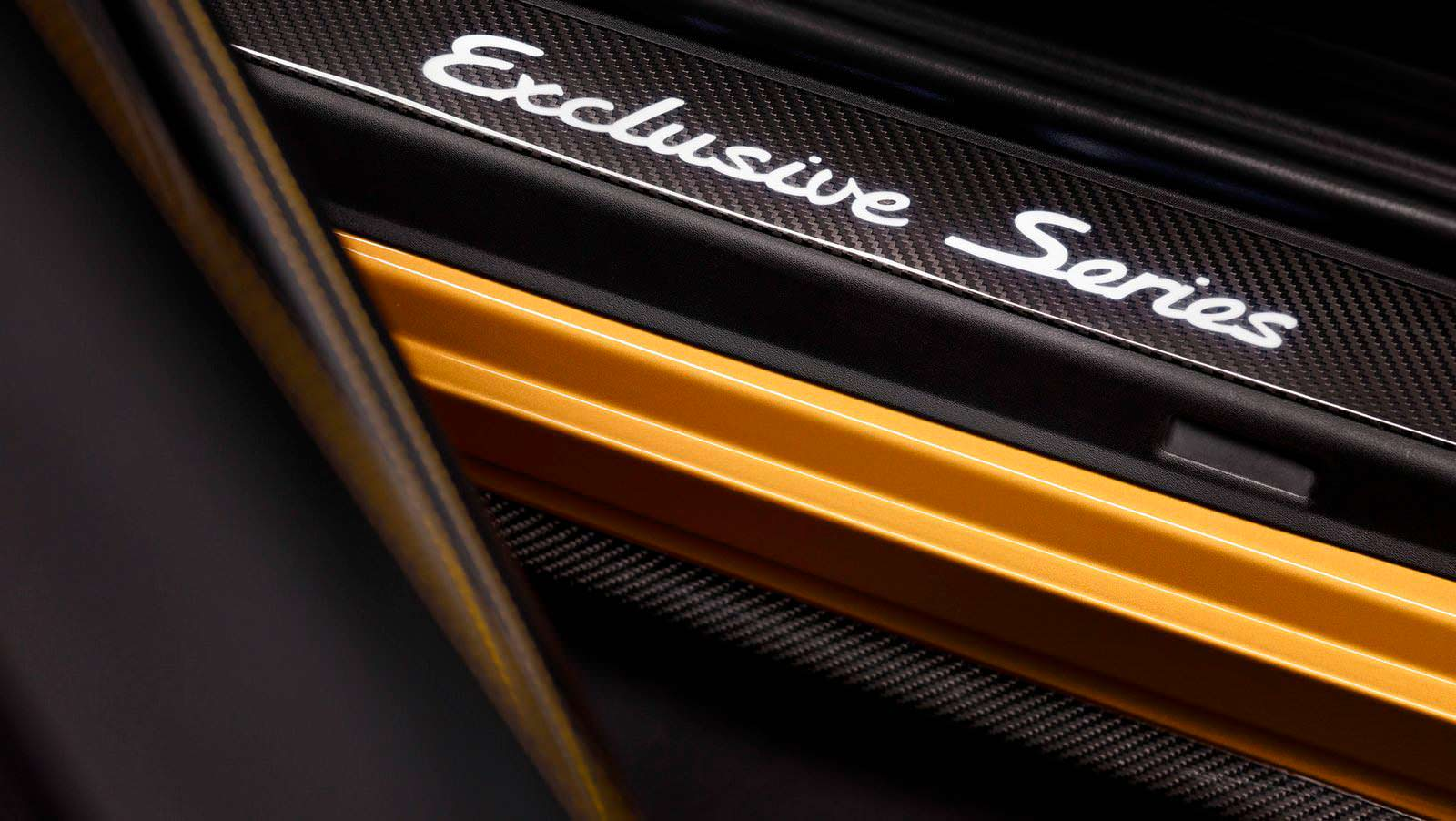 Дверные пороги Porsche 911 Turbo S Exclusive