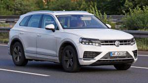Дорожные тесты Volkswagen Touareg 2018