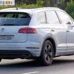 Шпионские фото Volkswagen Touareg третьего поколения