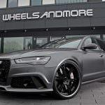 Универсал Audi RS6. Тюнинг Wheelsandmore