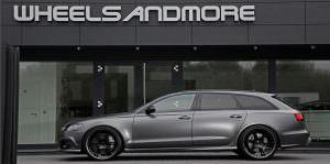 Тюнинг универсала Audi RS6 от Wheelsandmore