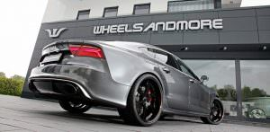 Тюнингованный хэтчбек Audi RS7 от Wheelsandmore
