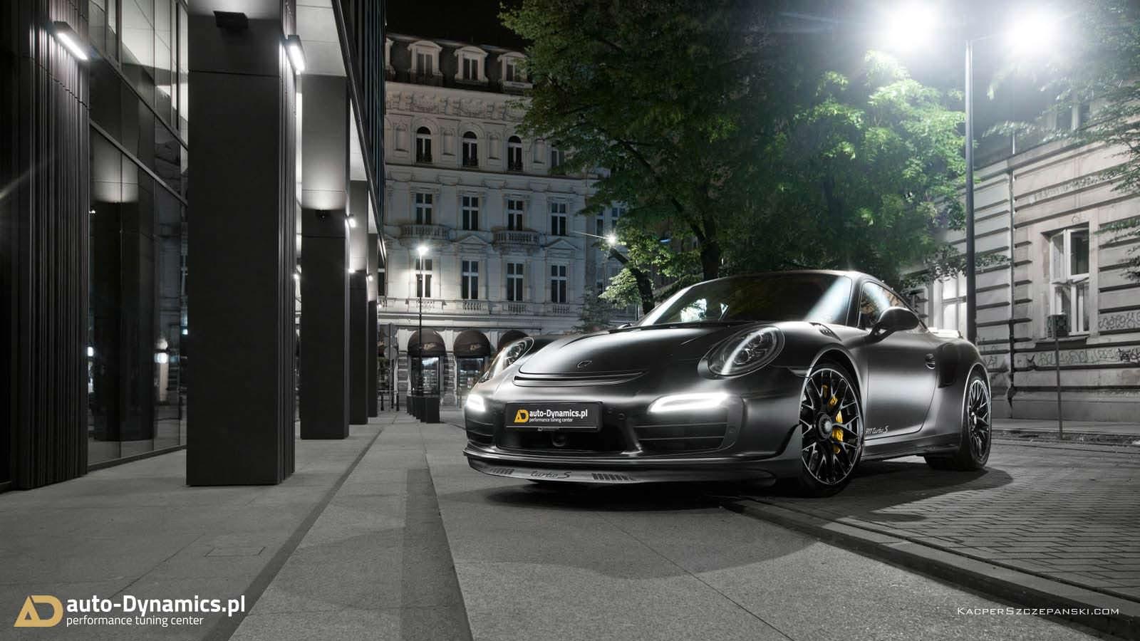 Польский тюнинг Dark Knight 911 Turbo S