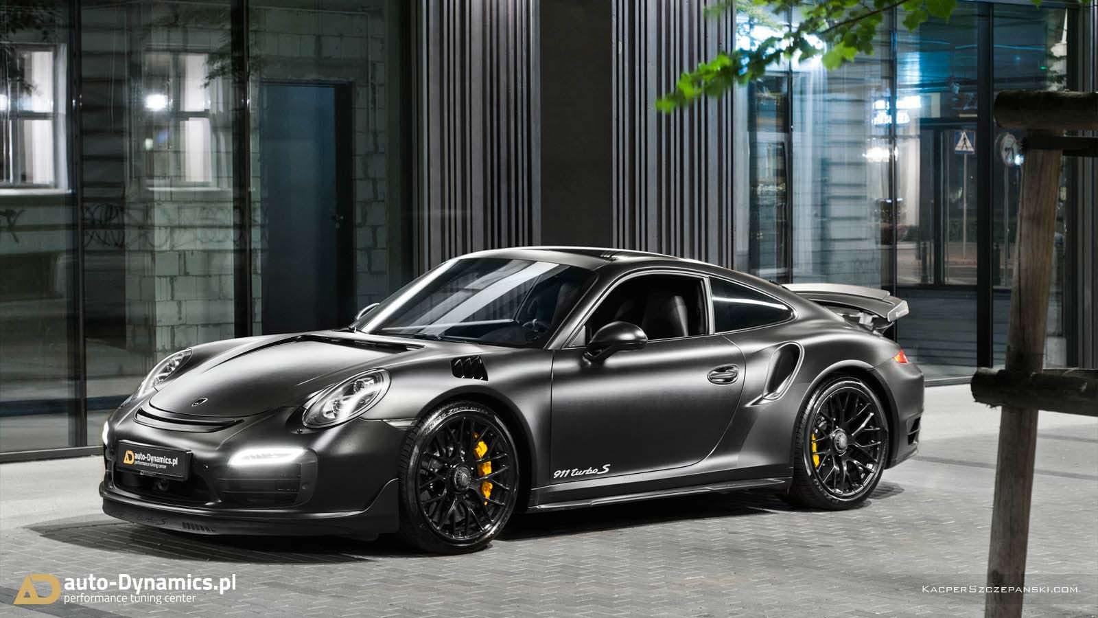 Тюнинг-ателье Auto-Dynamics презентовало модель Порше 911 Turbo S