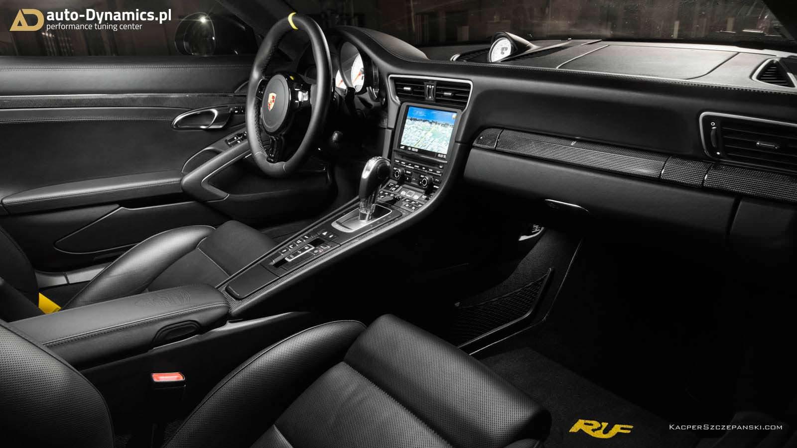 Польское тюнинг-ателье Auto-Dynamics презентовало Порше  911 Turbo S