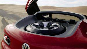 Запасное колесо Volkswagen Concept T 2004 года