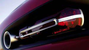 Дизайн задних фонарей Volkswagen Concept T 2004 года