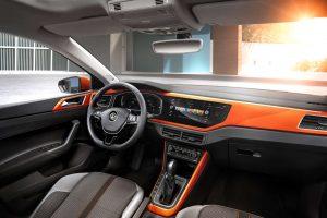 Интерьер Volkswagen Polo нового поколения