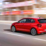 Красный VW Polo GTI. 2018 модельный год