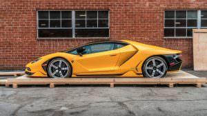 Новый Lamborghini Centenario без пробега