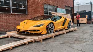 Новый Lamborghini Centenario в Беверли-Хиллз