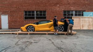 Распаковка Lamborghini Centenario