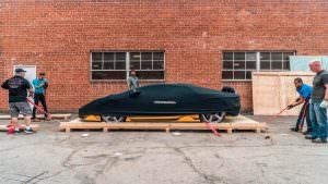 Lamborghini Centenario в чехле