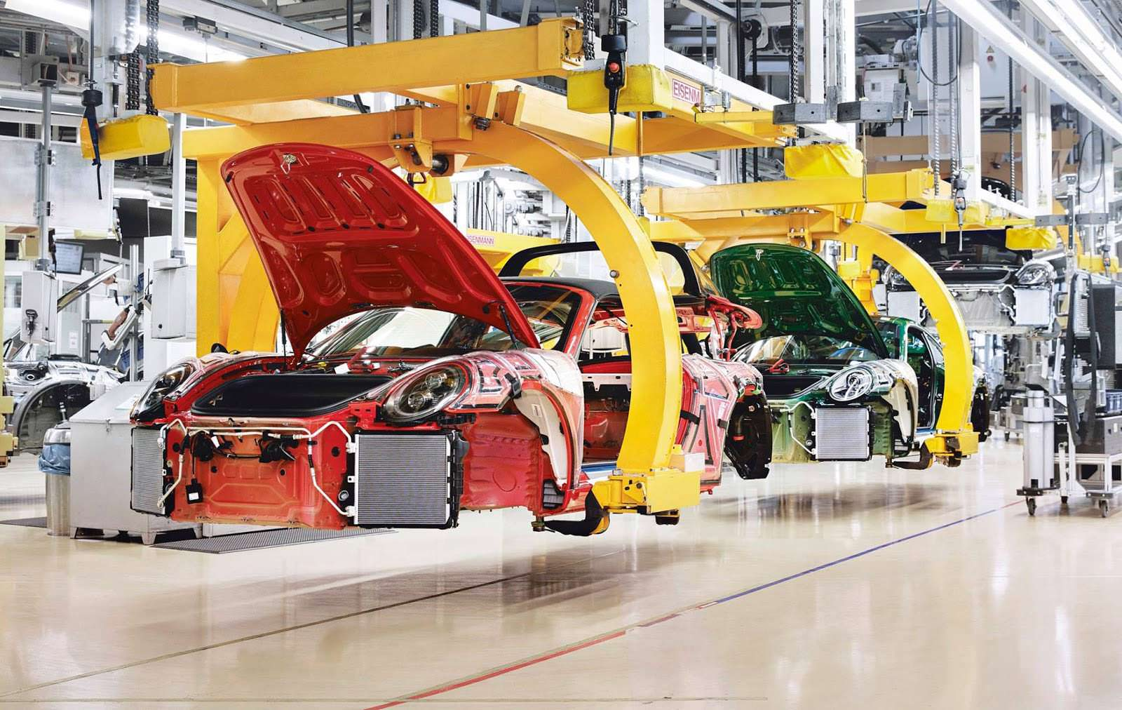 Производство Porsche 911 Targa 4 GTS