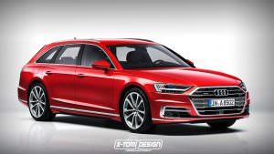 Универсал Audi A8 Avant D5. Неофициально от X-Tomi Design