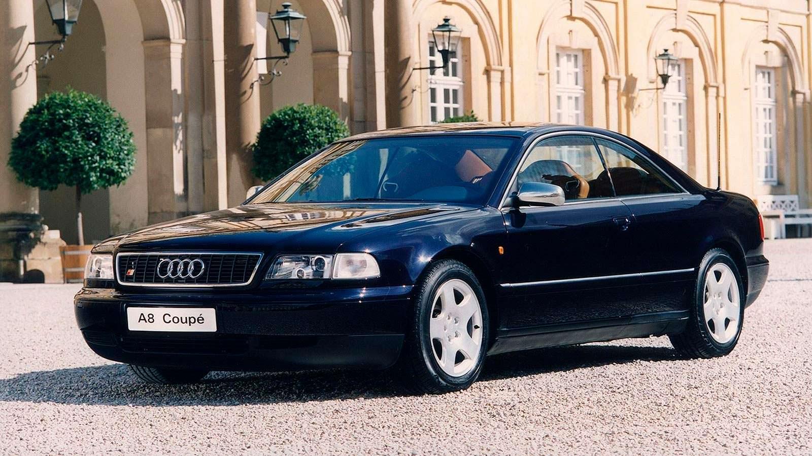 Концепт Audi A8 Coupe 1997 года