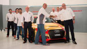 Фото | Гоночная Audi RS3 LMS