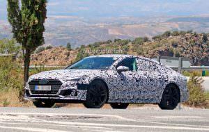 Audi S7 Sportback нового поколения в камуфляже
