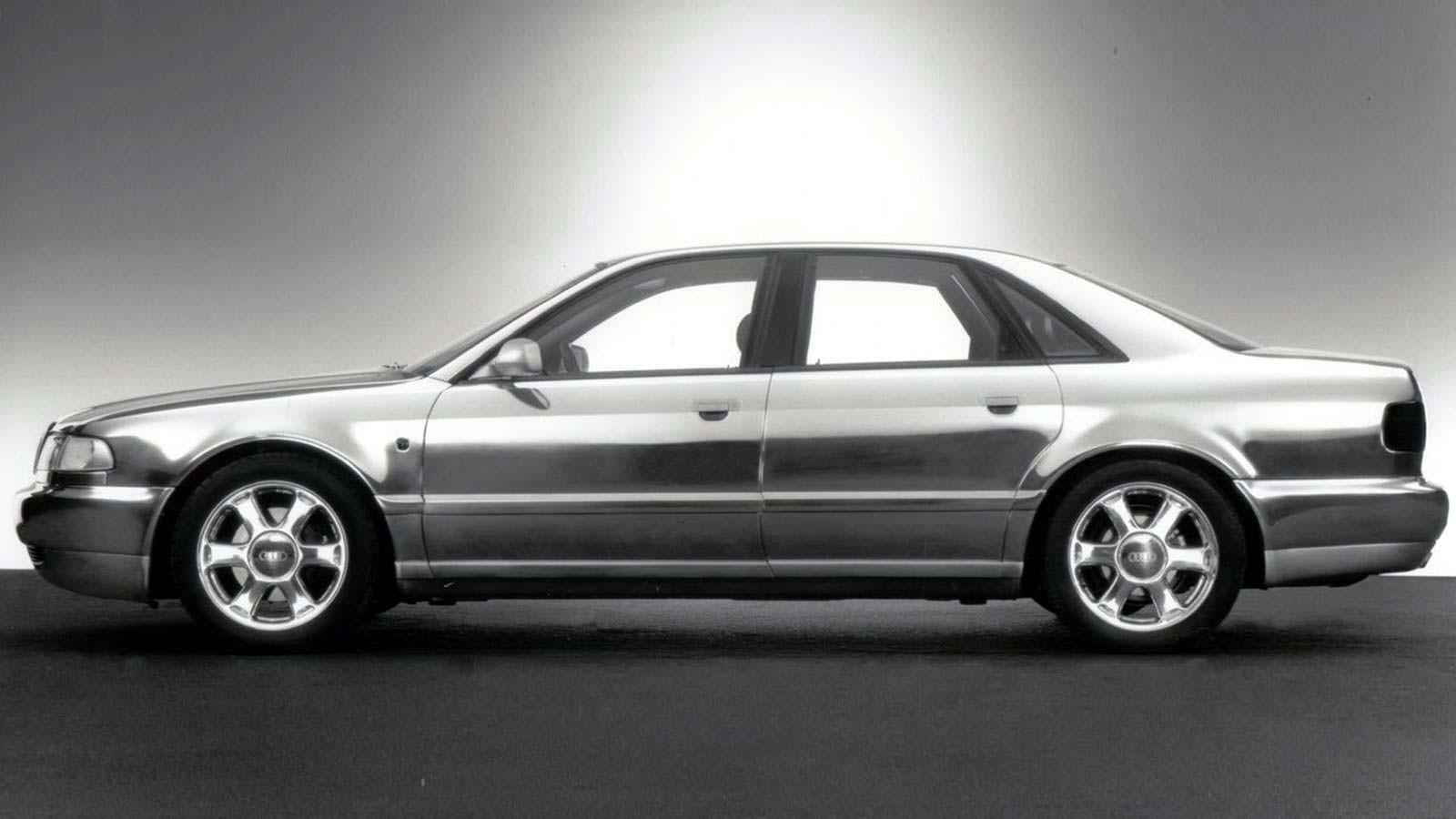 1993 Audi Space Frame. Концепт в алюминиевом кузове