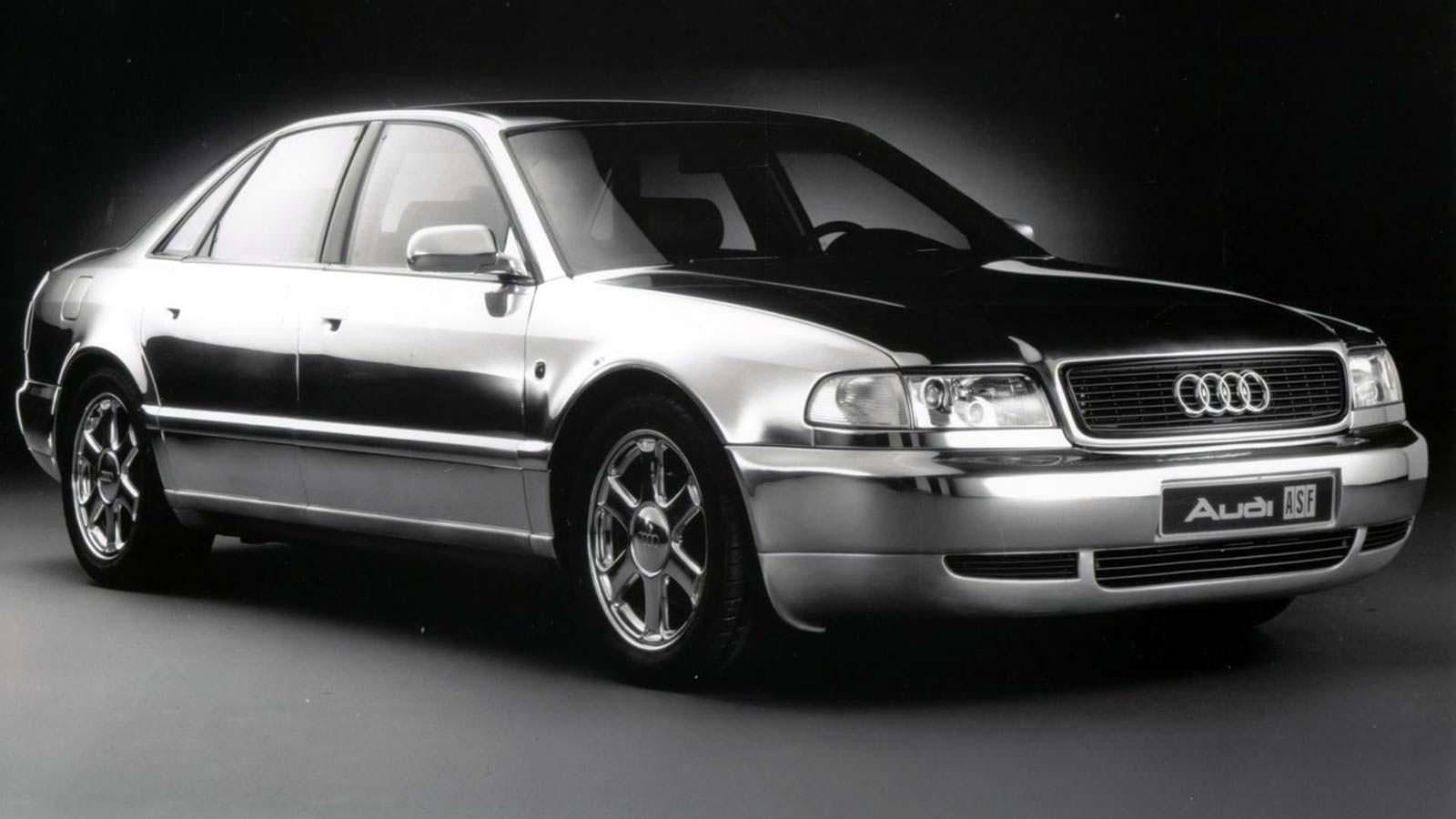 Алюминиевый прототип Audi Space Frame 1993 года